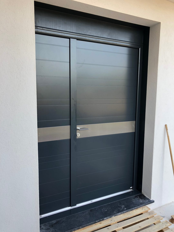 porte d'entrée aluminium nice